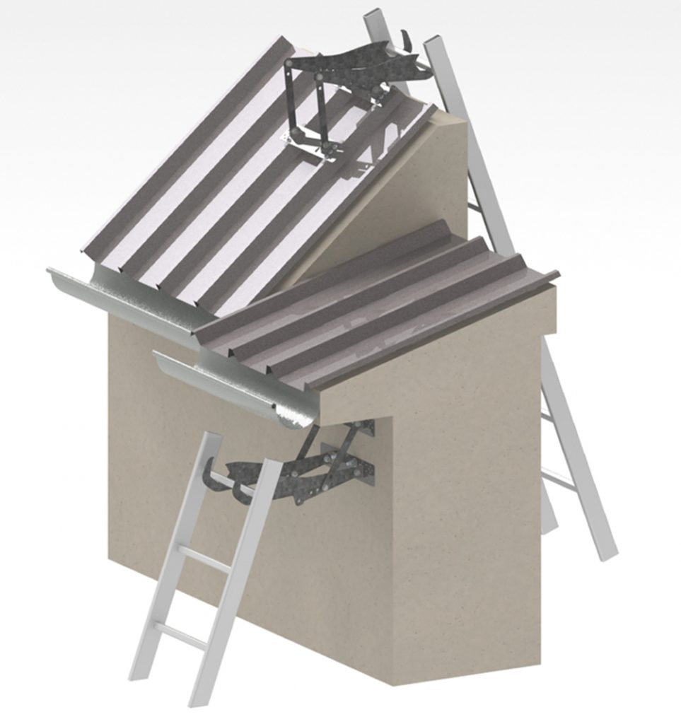 Ladder Hooks Access Means Vertic
